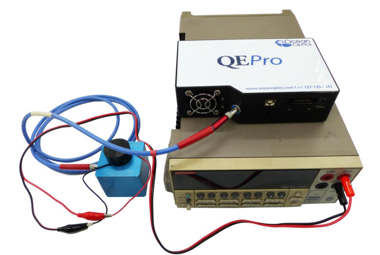 EL量子效率测量系统